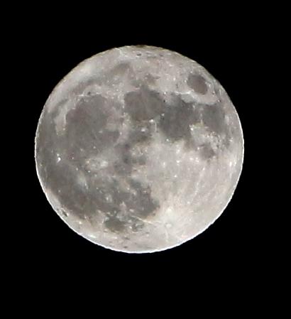périgée de la lune le 14 novembre 2016